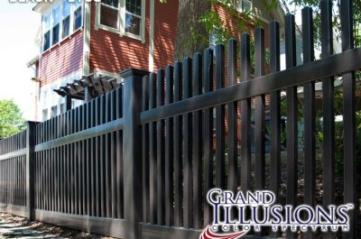 black-vinyl-picket-fencing-panels