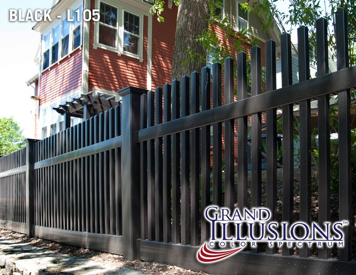 black-vinyl-picket-fencing-panels